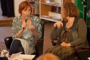 Justyna Bargielska i Anna Rosłoń, zdjęcie: Tineke de Lange